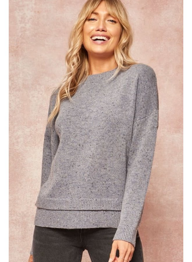 Moonlight specked sweater