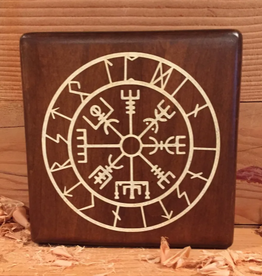 Compass with Runes - Paint