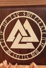 Valknut with Runes - Paint