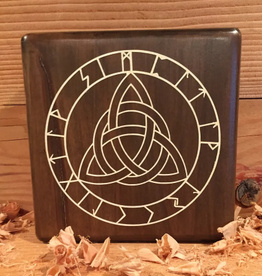 Celtic Knot with Runes - Paint