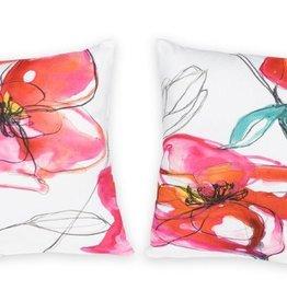 Melrose International Floral Pillow