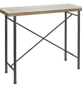 Melrose International Table w/Glass Top