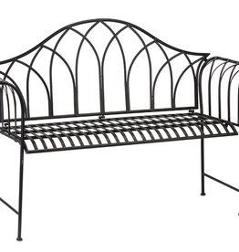 Melrose International Iron Garden Bench