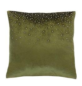 Melrose International Green Pillow