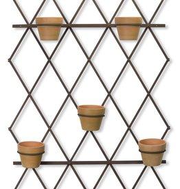 Melrose International Trellis With Pots