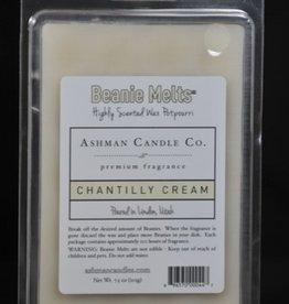 ASHMAN Beanie Melts - Chantilly Cream