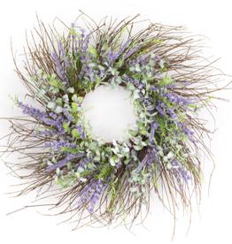 "Melrose International Floral Wreath 30.5""D EVA"