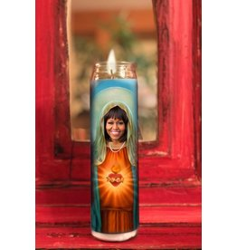 Michelle Obama Candle