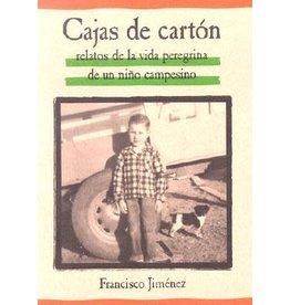 Houghton Mifflin Harcourt Cajas de Cartón: Relatos de la Vida Peregrina de un Niño Campesino - Francisco Jiménez