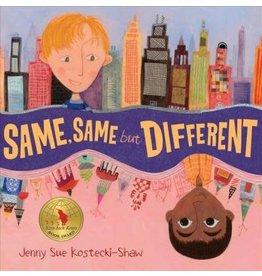 Henry Holt & Co Same Same but Different - Jenny Sue Kostecki-Shaw