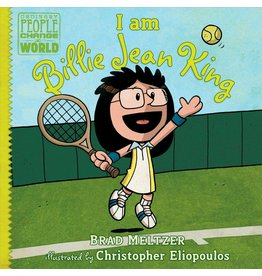 Dial Books I Am Billie Jean King - Brad Meltzer, Christopher Eliopoulos
