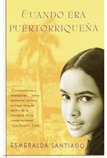 Vintage Español Cuando era Puertorriqueña - Esmerelda Santiago