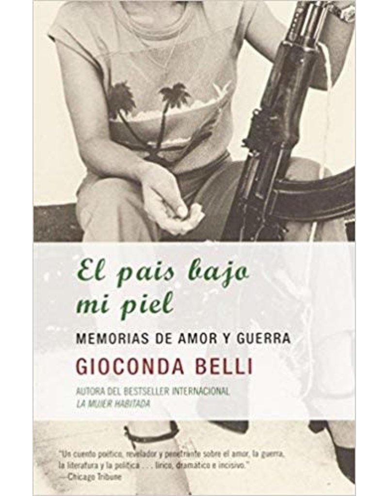 Vintage Español El país bajo mi piel - Gioconda Belli