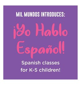 K-5 Spanish Intensive Course: June 30th - August 4th