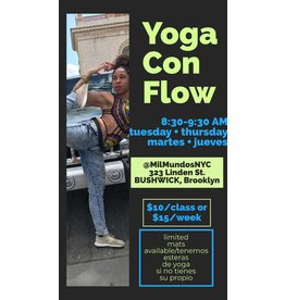 Copy of Yoga con Flow (1 Class)