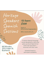 Heritage Speakers Spanish Workshop