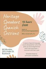 Six-Week Heritage Speakers Spanish Workshop
