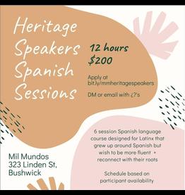 Heritage Speakers Spanish Workshop