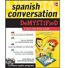 McGraw-Hill Spanish Conversation Demystified with Two Audio CDs - Jenny Petrow