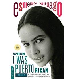 Da Capo Press When I was Puerto Rican - Esmeralda Santiago