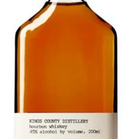 Kings County Distillery Kings County Distillery 'Straight Bourbon' Whiskey, Brooklyn, New York (200ml)
