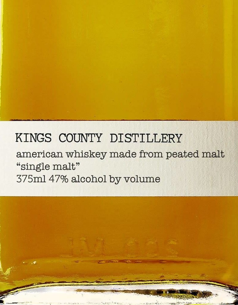 Kings County Distillery 'Single Malt' American Whiskey, Brooklyn (200ml)
