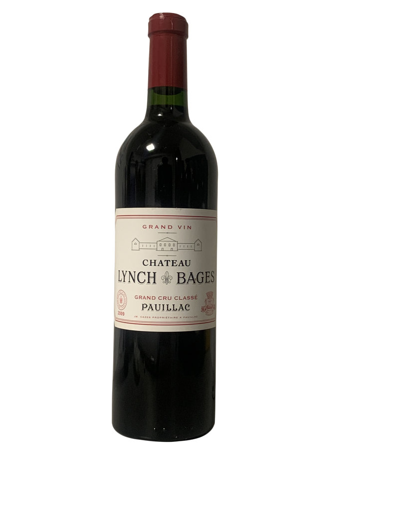 Chateau Lynch-Bages Chateau Lynch-Bages Pauillac 5eme Grand Cru Classe 2009 , Bordeaux, France (750mL)