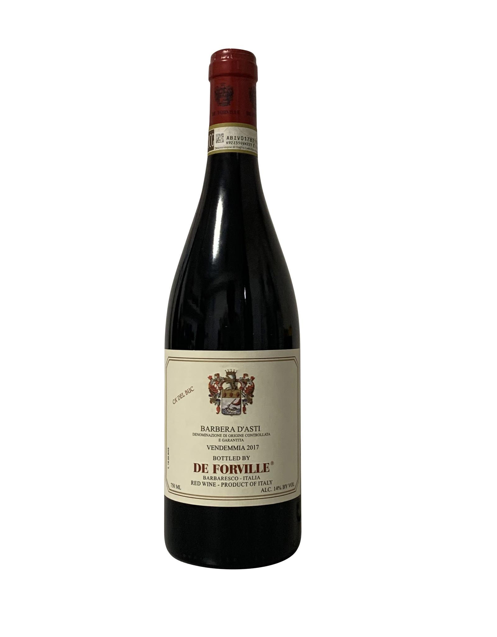 """De Forville De Forville Barbera d'Asti """"Cascina Buc"""" 2017, Piedmont, Italy (750ml)"""