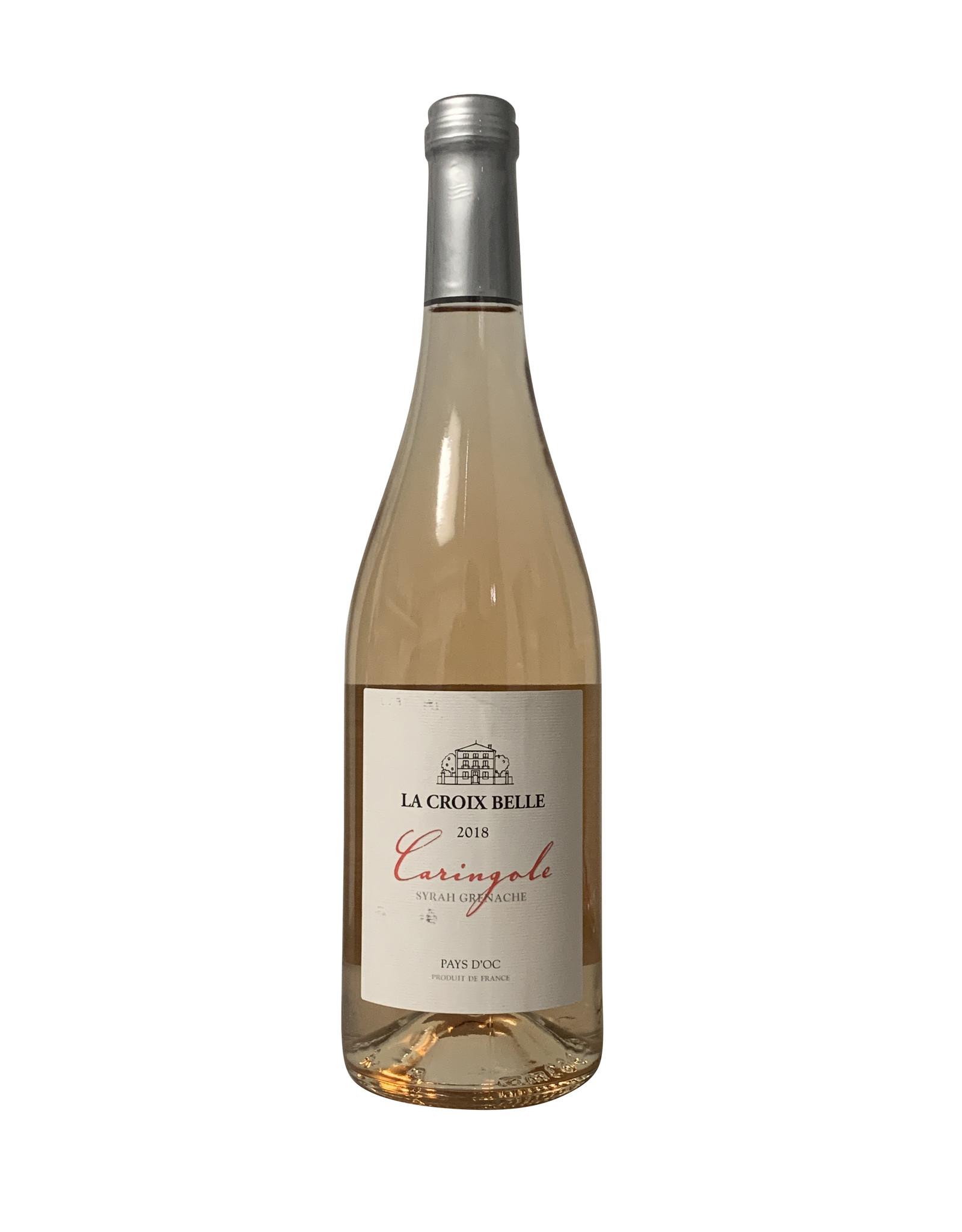 """Domaine La Croix Belle Domaine La Croix Belle Cotes de Thongue """"Caringole"""" Rosé 2019, Languedoc, France (750mL)"""