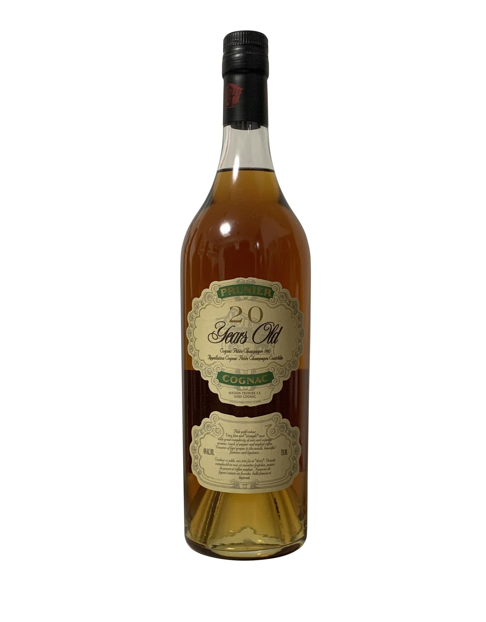 Prunier Prunier Cognac 20 Year-Old NV, Cognac, France (750mL)