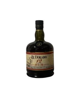 El Dorado El Dorado 12 Year Old Finest Demerara Rum, Guyana (750mL)