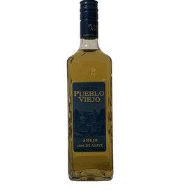 Pueblo Viejo Pueblo Viejo Tequila Anejo, Mexico (750ml)