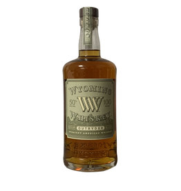 Wyoming Whiskey Outryder Straight American Whiskey 100 Proof, Wyoming (750 ml)
