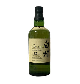 Suntory Whisky Suntory Whisky The Hakushu 12 Year Single Malt Japanese Whisky, Japan (750mL)