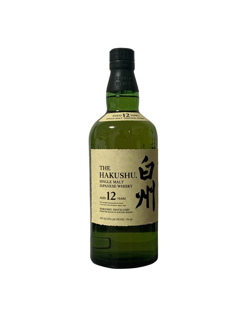 Suntory Whisky Suntory Whisky The Hakushu 12 Year Single Malt Japanese Whisky, Japan (750mL)