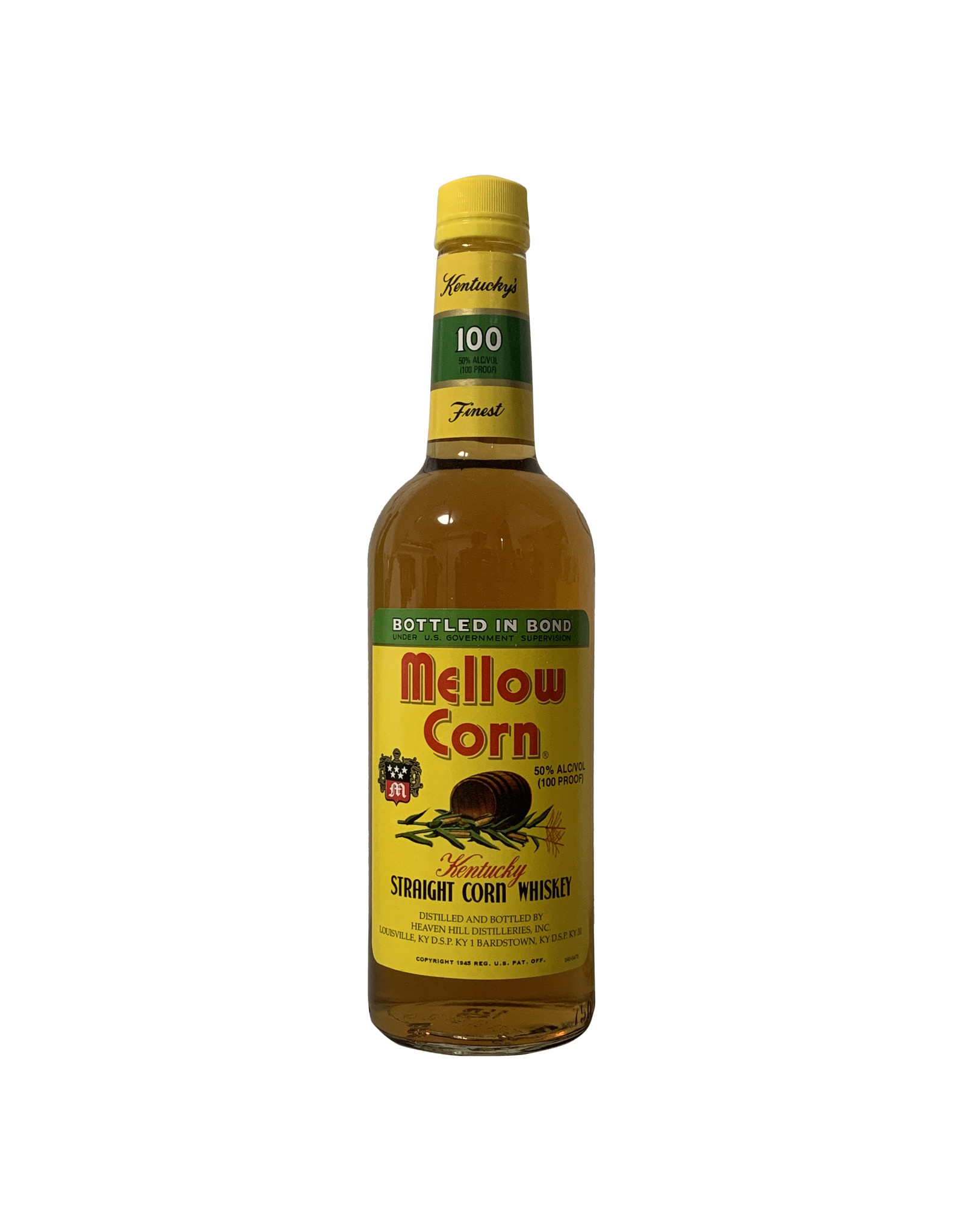 Mellow Corn Mellow Corn Kentucky Straight Corn Whiskey 100 Proof, Kentucky (750mL)