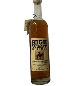 High West High West Rendezvous Rye Whiskey, Park City, Utah (750mL)