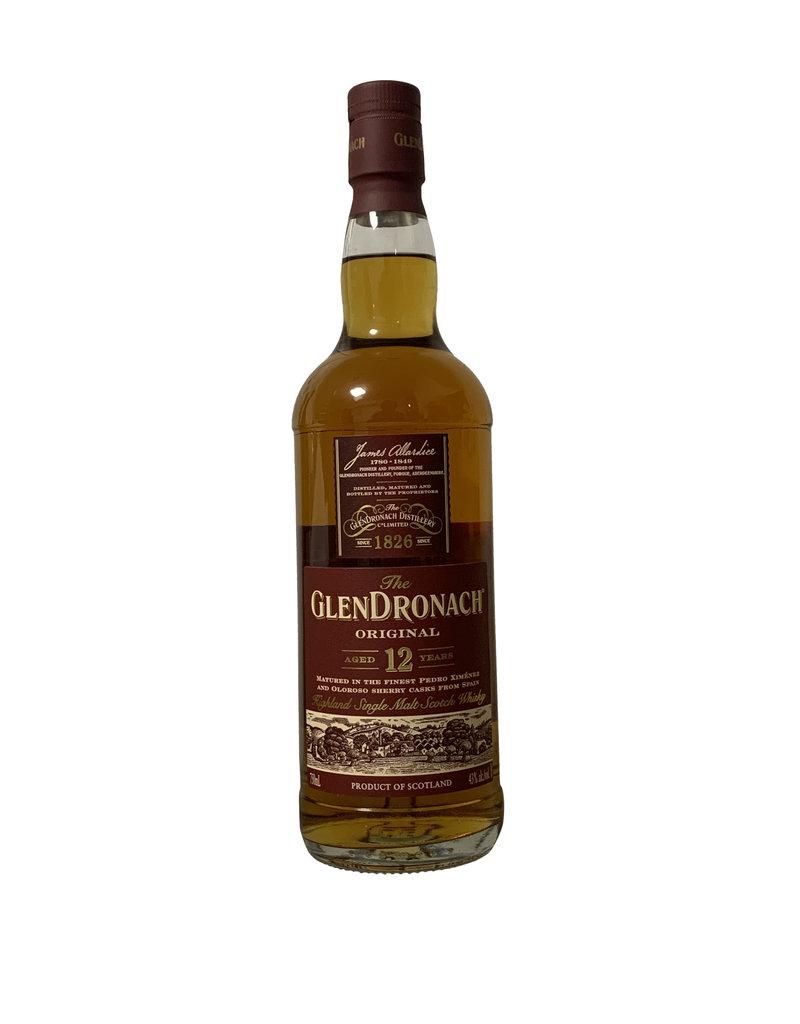 The GlenDronach 12 Year Old Single Malt Scotch Whisky, Speyside, Scotland (750ml)