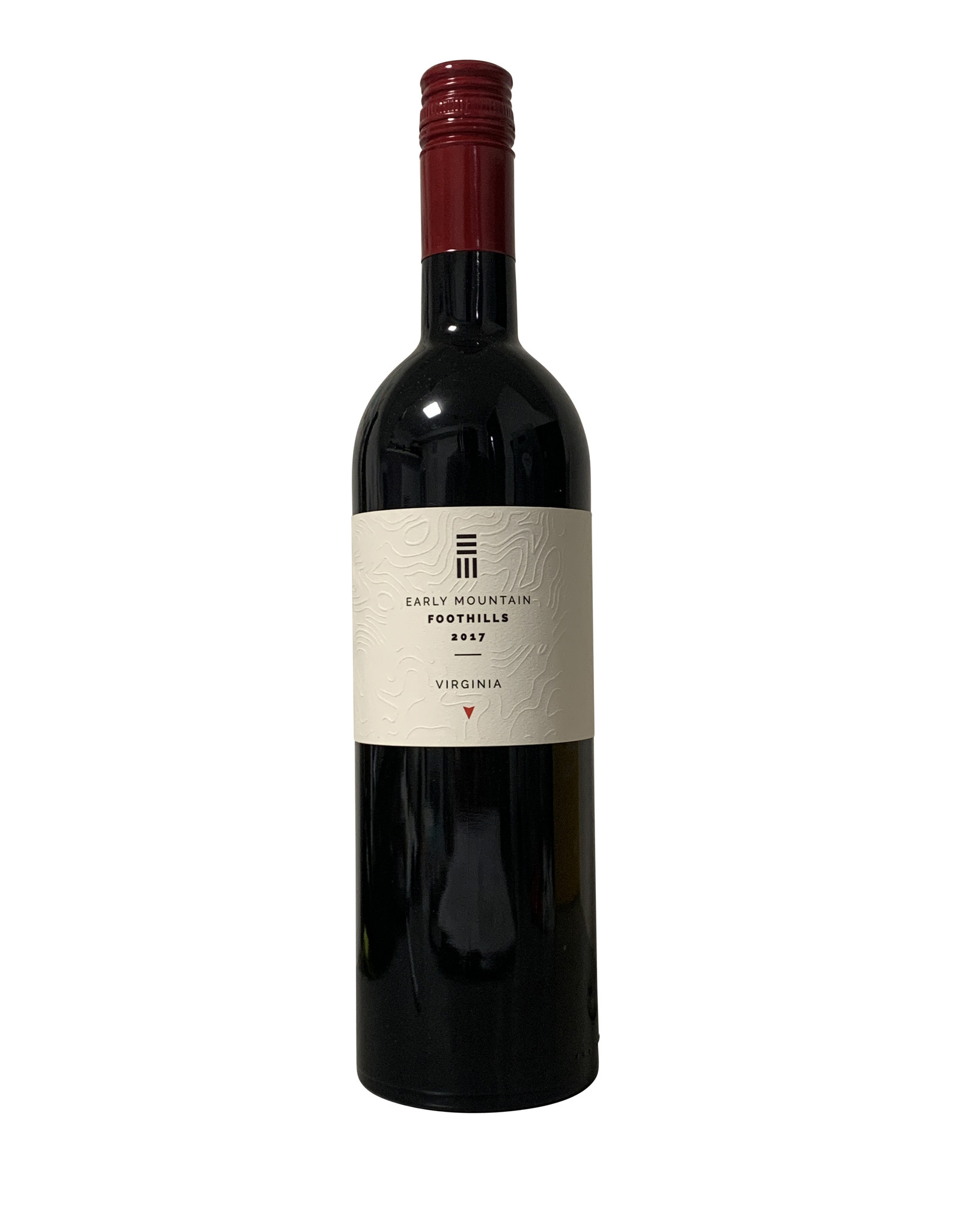 """Early Mountain Early Mountain Vineyards """"Foothills Red"""" 2017, Virginia (750mL)"""