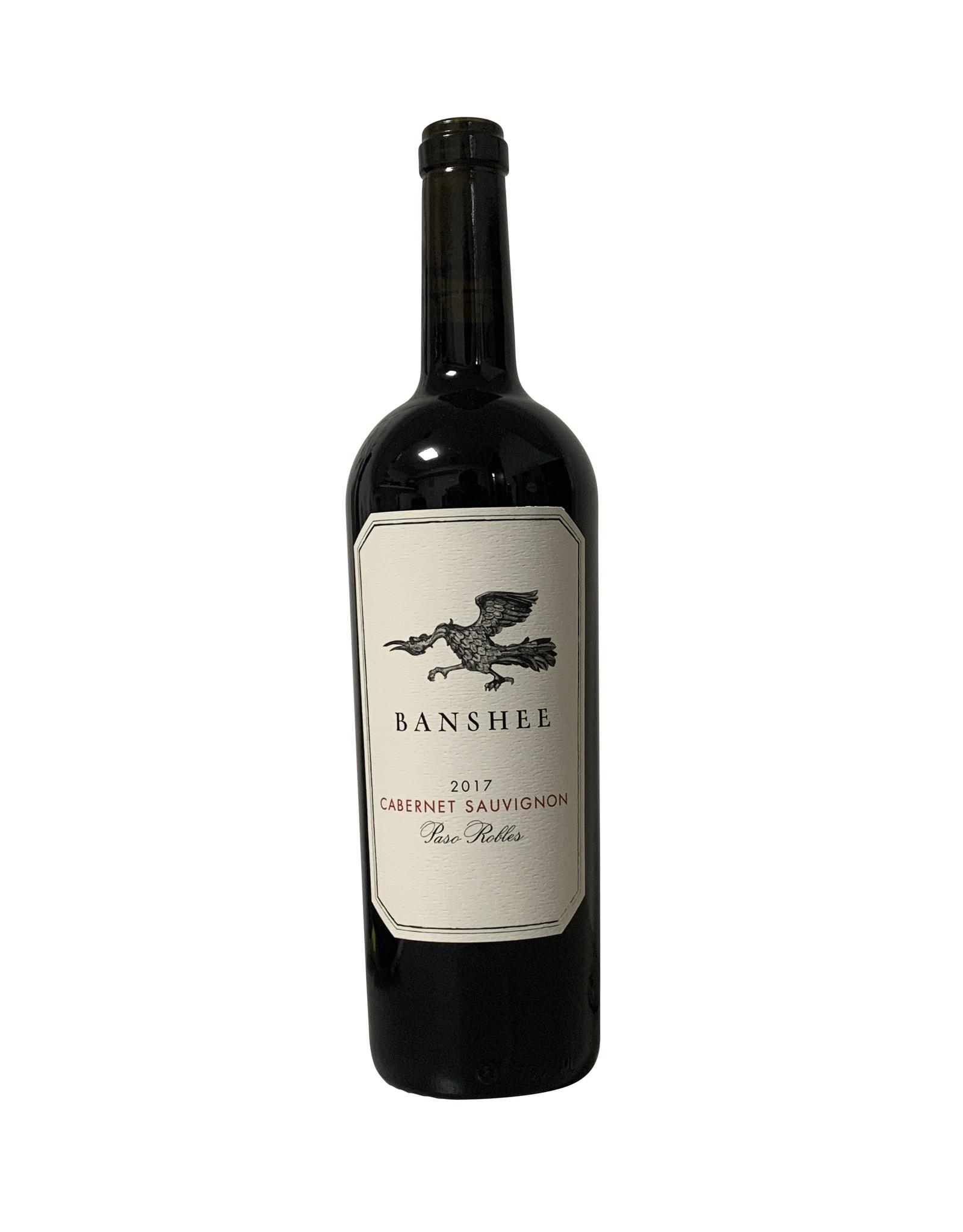 Banshee Banshee Cabernet Sauvignon Paso Robles 2017, California (750mL)