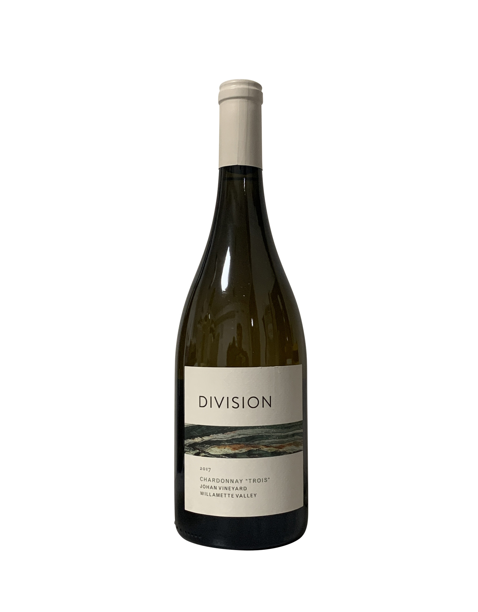 "Division Winemaking Company Division Winemaking Company Chardonnay ""Trois"" Johan Vineyard Willamette Valley 2017, Oregon (750mL)"