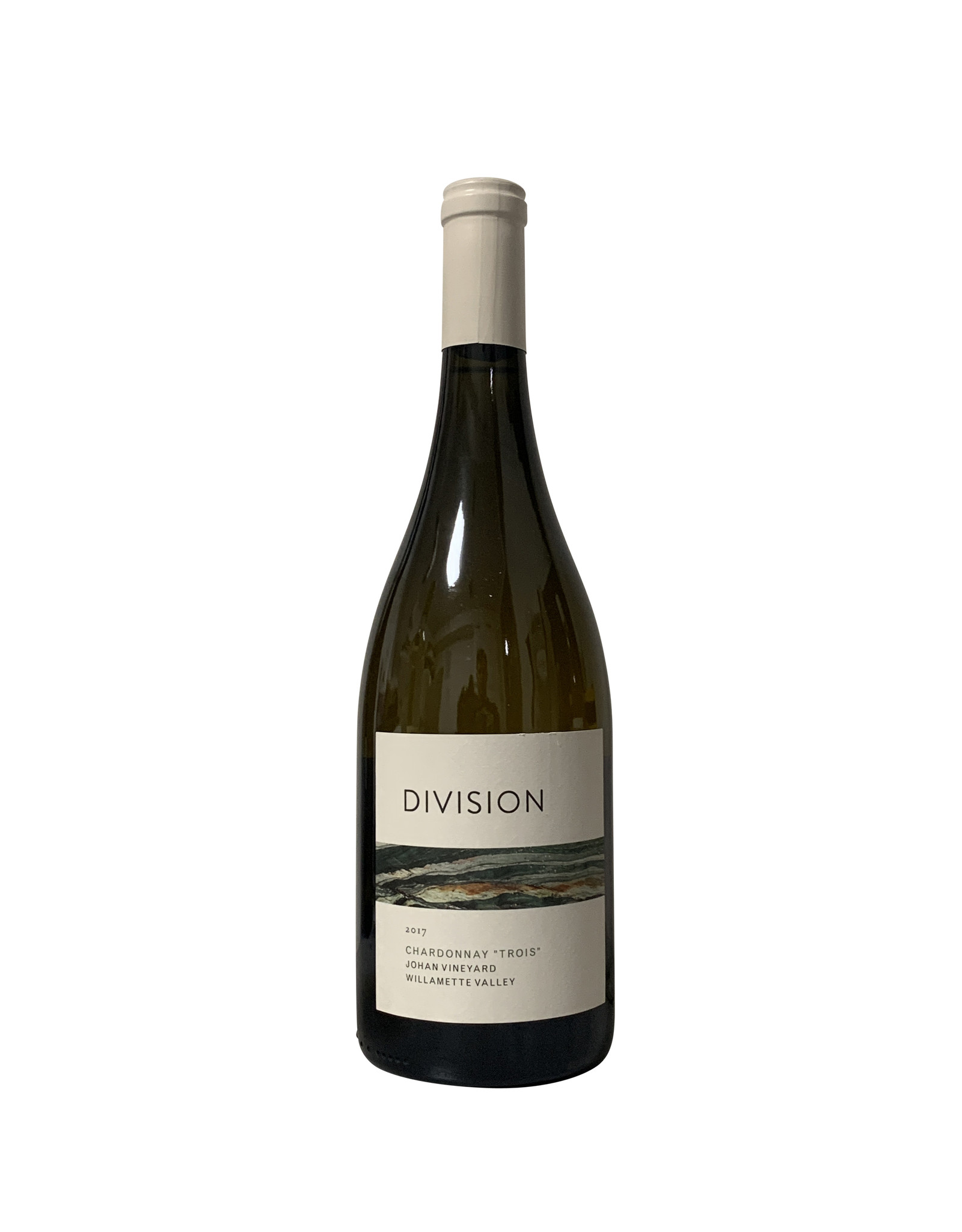 "Division Winemaking Company Division Winemaking Company Chardonnay ""Trois"" Johan Vineyard Willamette Valley 2017, Oregon (750mL)"