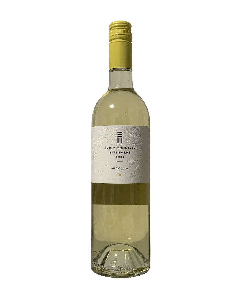 """Early Mountain Vineyards """"Five Forks"""" White 2018, Virginia (750mL)"""