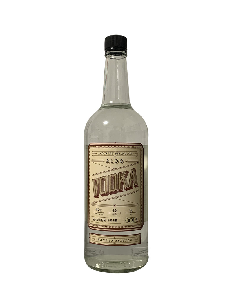 OOLA Distillery Aloo Vodka, Washington (750mL)