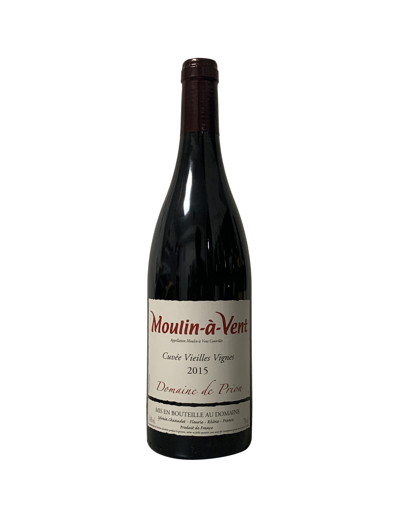Domaine de Prion Domaine de Prion Moulin-à-Vent Cuvée Vieilles Vignes 2015, Burgundy, France (750mL)