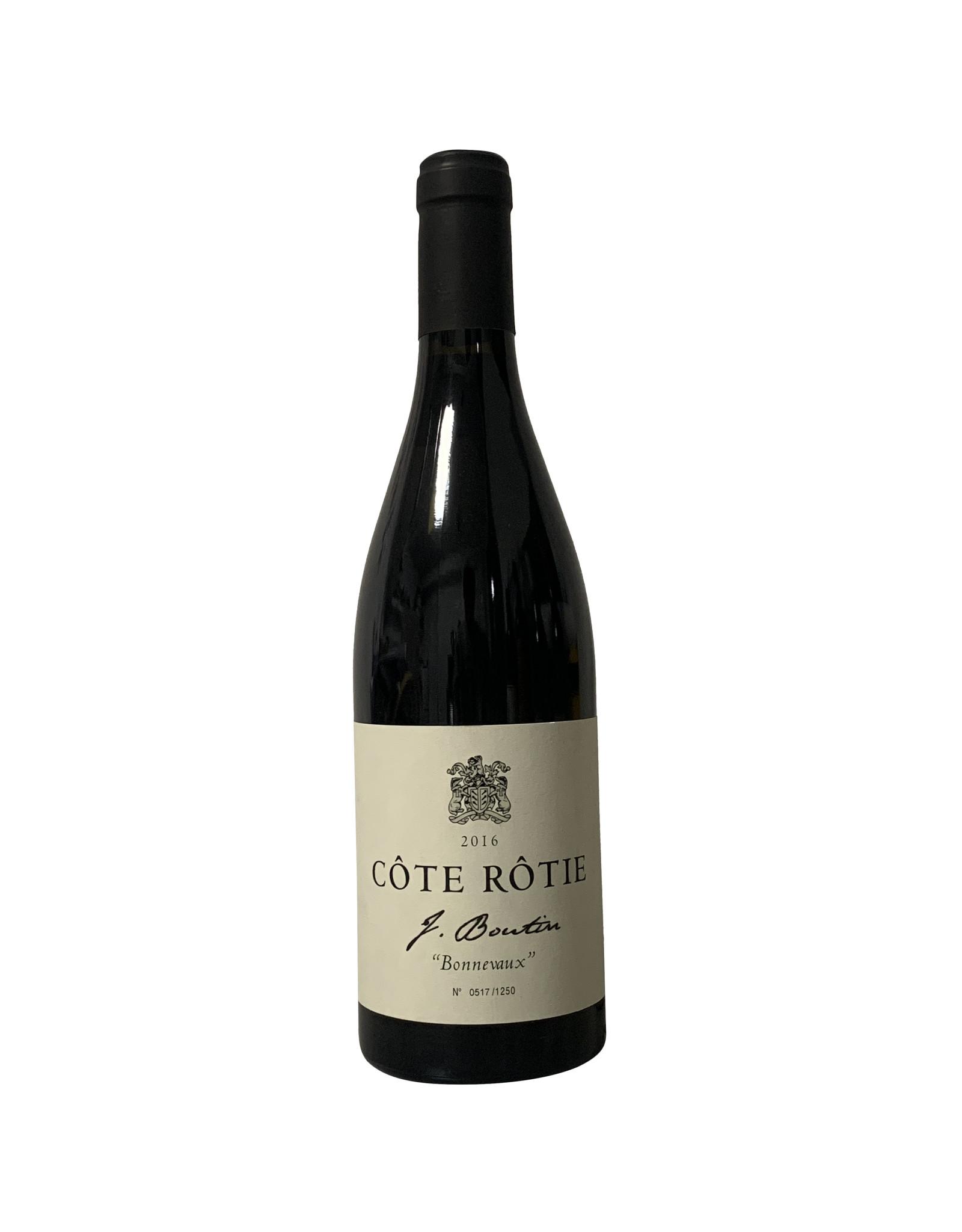 """J. Boutin J. Boutin Côte Rotie """"Bonnevaux"""" 2016, Rhone, France (750mL)"""