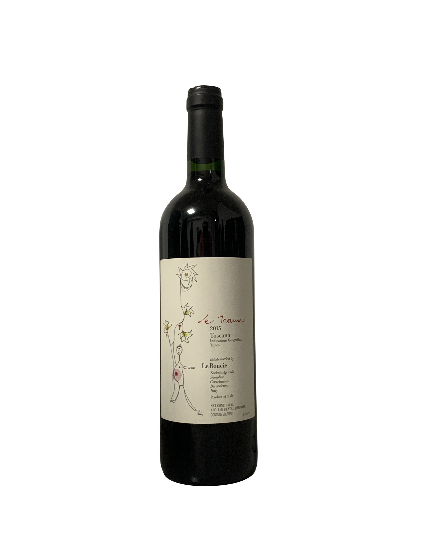 Podere Le Boncie Podere Le Boncie Le Trame Rosso di Toscana IGT 2015, Tuscany, Italy (750mL)