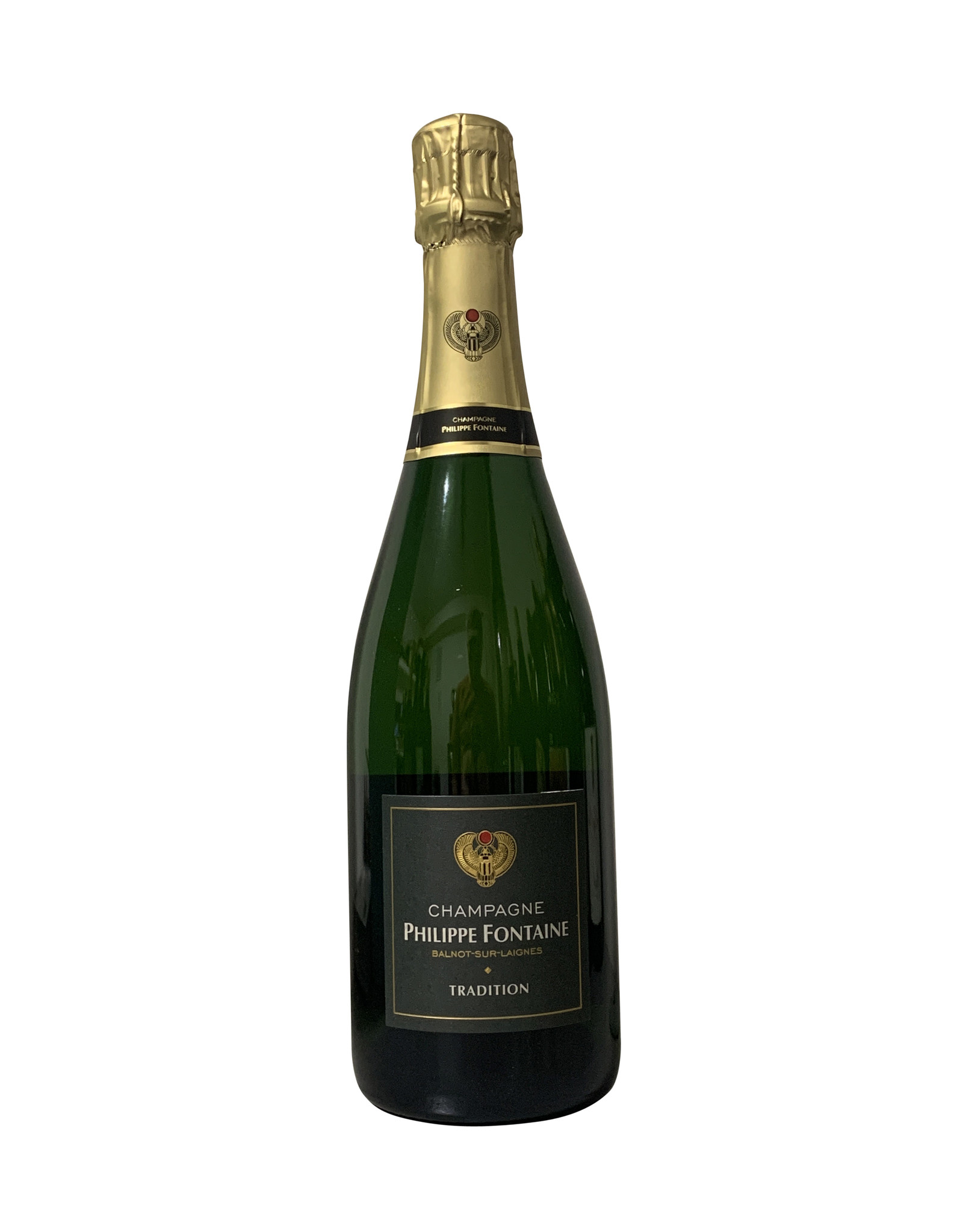 """Philippe Fontaine Philippe Fontaine Champagne """"Tradition"""" Brut, Champagne, France (750mL)"""