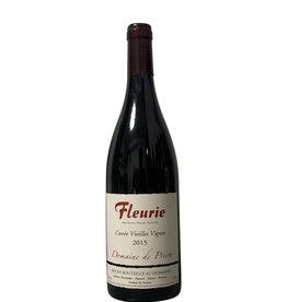 Domaine de Prion Domaine de Prion Fleurie Cuvée Vieilles Vignes 2015, Burgundy, France (750mL)