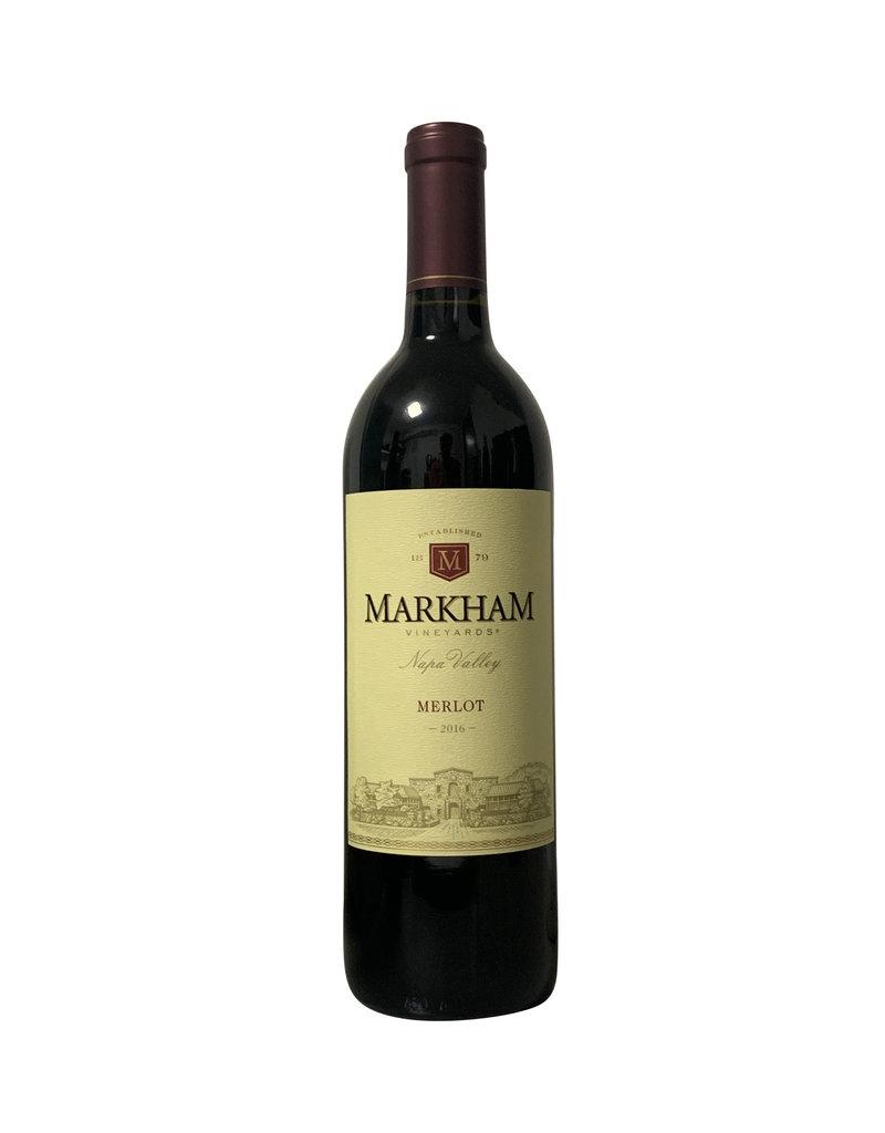 Markham Vineyards Markham Vineyards Merlot 2017, California (750mL)j